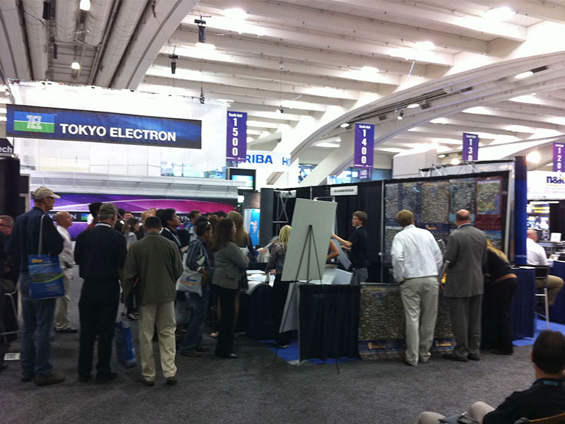 Silicon Maps booth