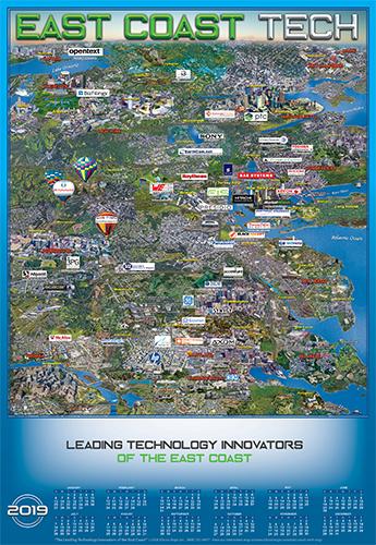 East Coast Technology map