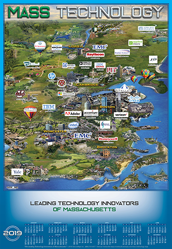 Massachussetts Technology Map