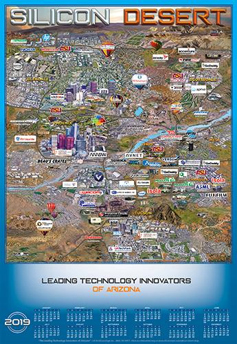 Arizona Technology map