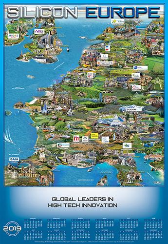 Europe Technology map