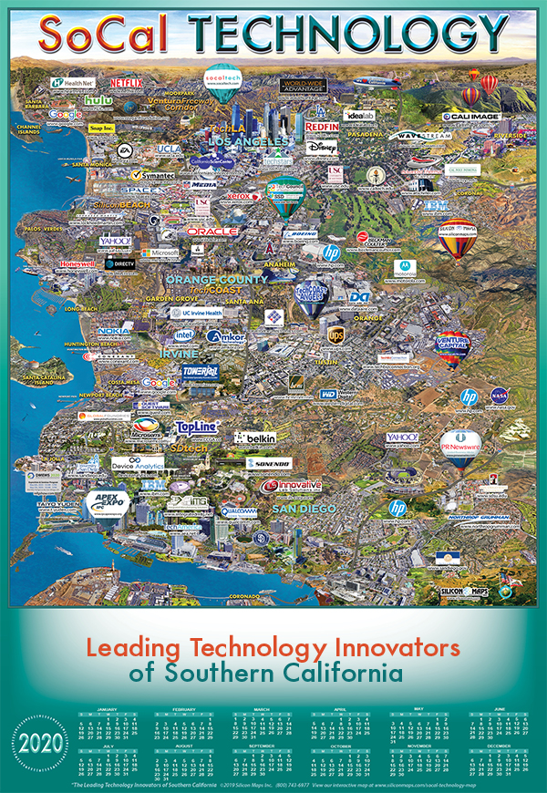 map of SoCal Technology