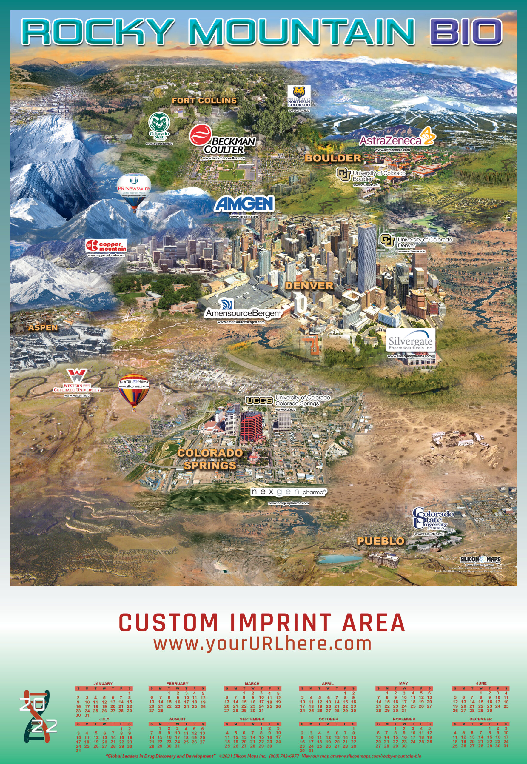 RMB22, Rocky Mountain BIO, Bio, Map, Business, Lab, hardware, Biology, companies