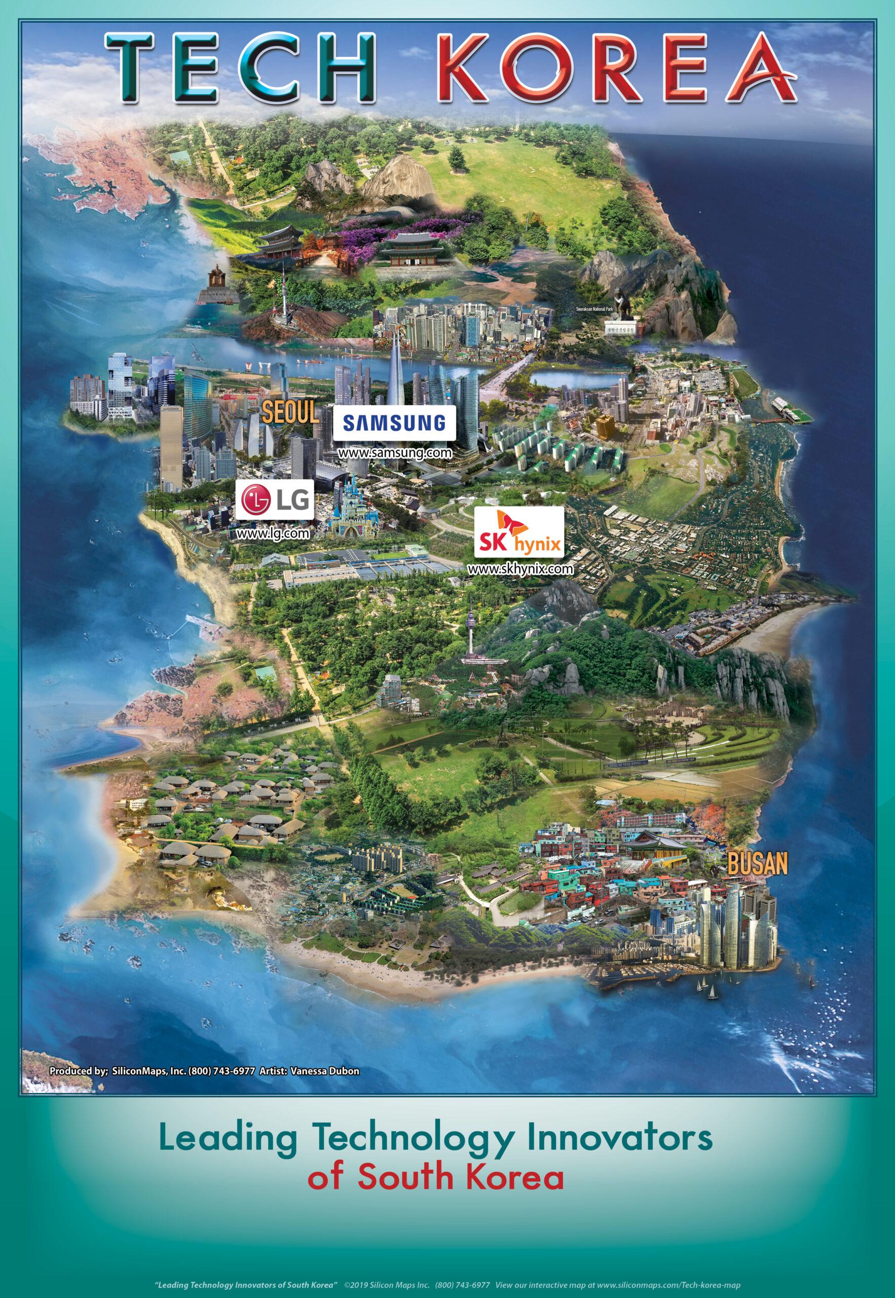 TK20, Tech Korea, Tech, Map, Business, Technology, hardware, software, companies